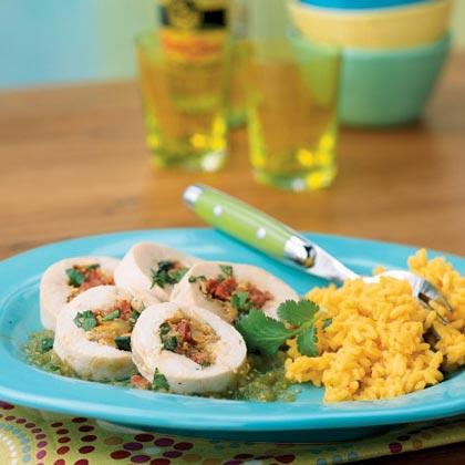 Chorizo and Plantain-Stuffed Chicken Recipe