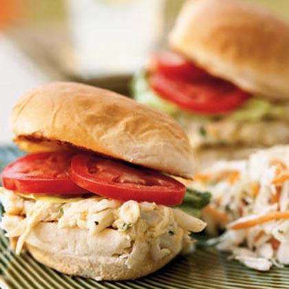Summer Crab Rolls Recipe