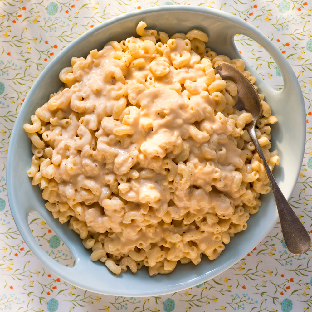 <p>Creamy Stove-Top Macaroni and Cheese</p>