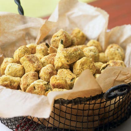 Oven-Fried Okra Recipe