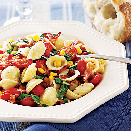 Pasta and tomato salad recipe