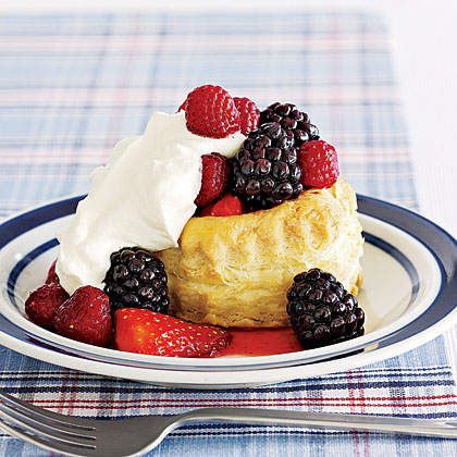Berry and Cream Cups