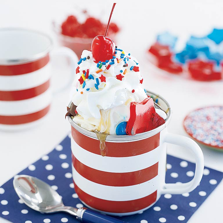 Star-Spangled Sundaes Recipe