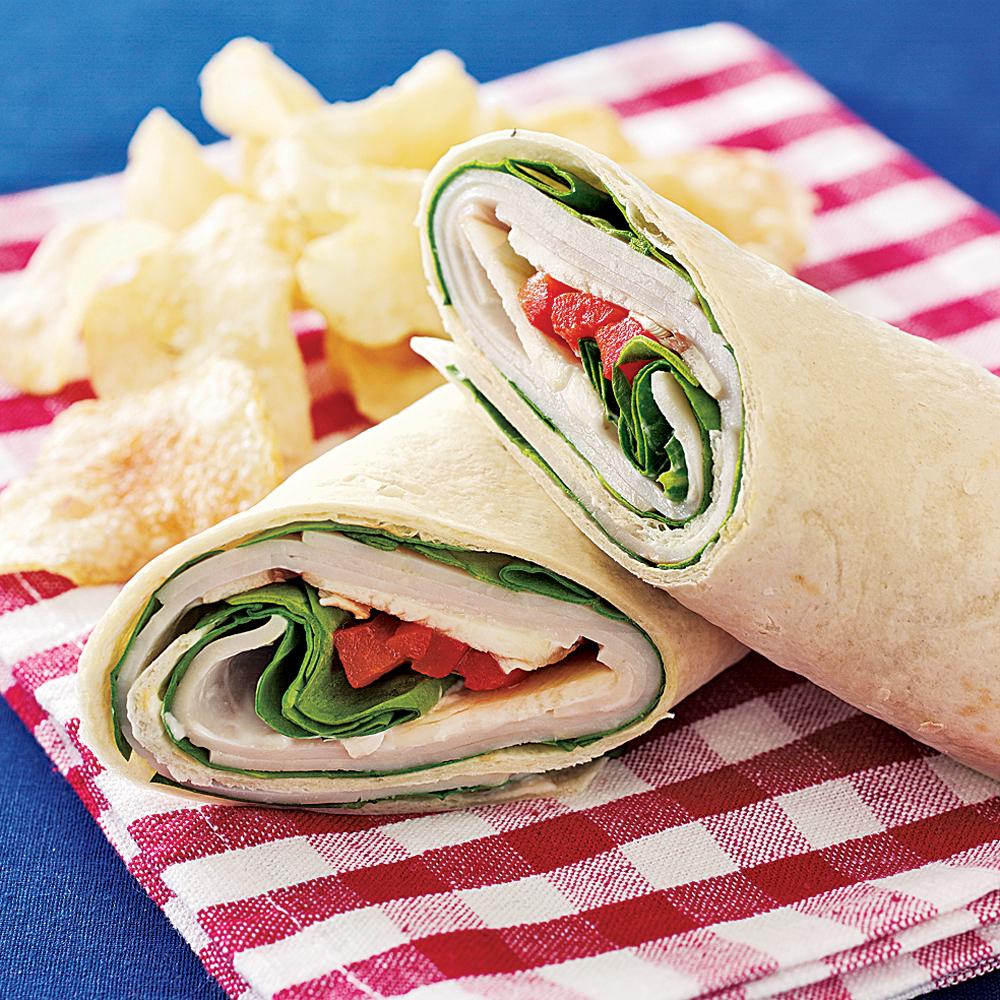 Instant Turkey Wrap Recipe Myrecipes
