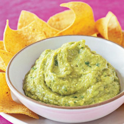 Roasted Tomatillo Guacamole Recipe | MyRecipes.com