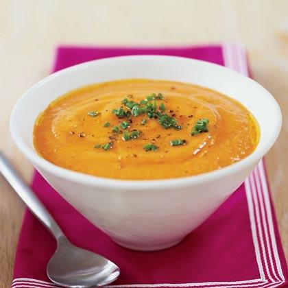 Red Pepper-Cauliflower Soup