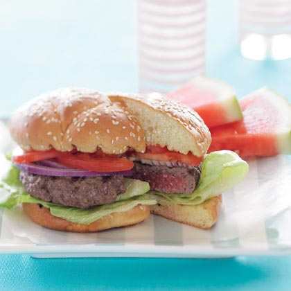 The Perfect Sunset Burger
