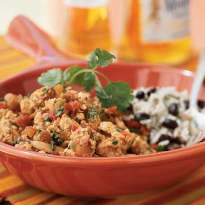 Chicken Picadillo