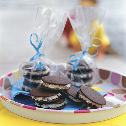 Cream-Filled Chocolate Chip Wafers