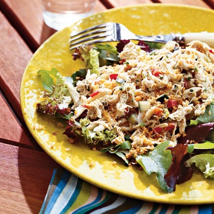 Maryland Crab Cake Salad Recipe