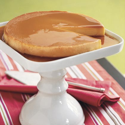 Caramel Custard RecipeBoost your calcium intake with a serving of dairy-packed custard.
