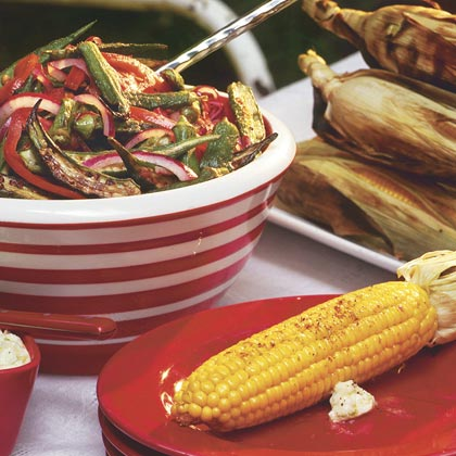 Chili-Lime Grilled Corn
