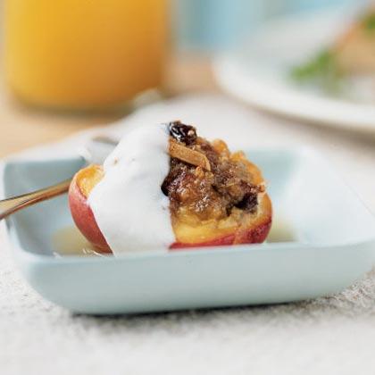 Warmed Stuffed PeachesRecipe