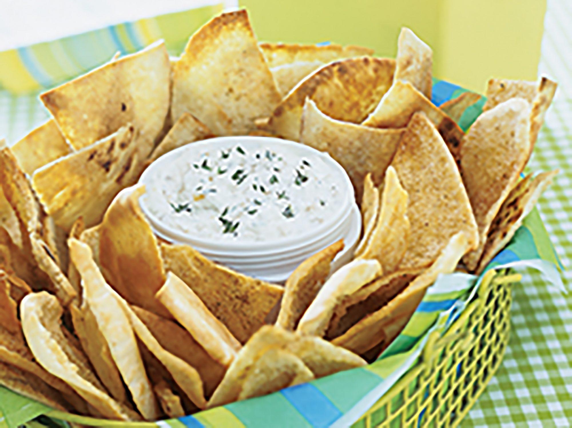 Garlic Pita Chips