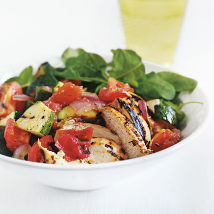 Grilled-Chicken Chopped Salad Recipe