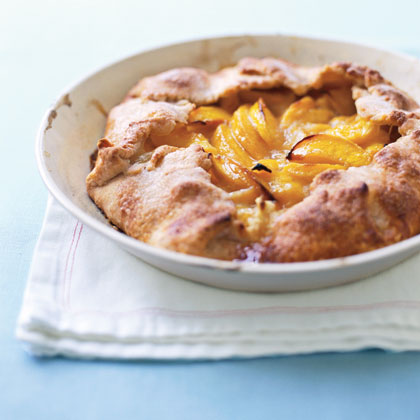 Rustic Peach Tart Recipe