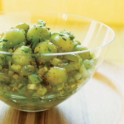 Honeydew Relish Salad