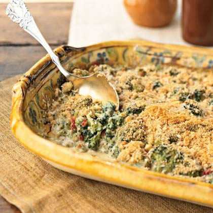 Broccoli and Parmesan CasseroleRecipe