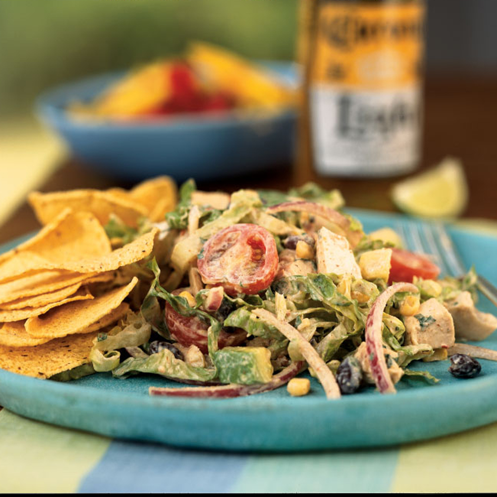easy chicken taco salad recipe