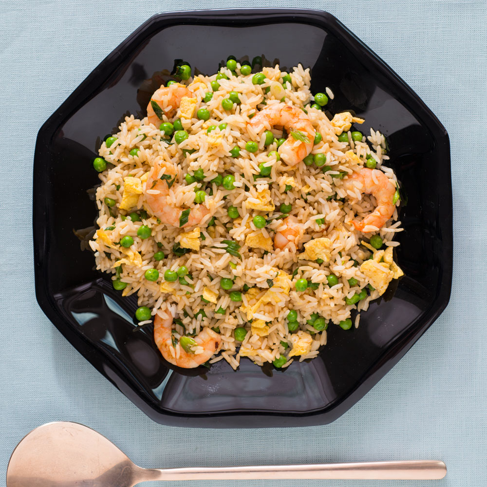<p>Shrimp Fried Rice</p>