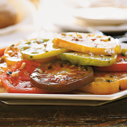 Marinated Heirloom Tomatoes with Tarragon Recipe