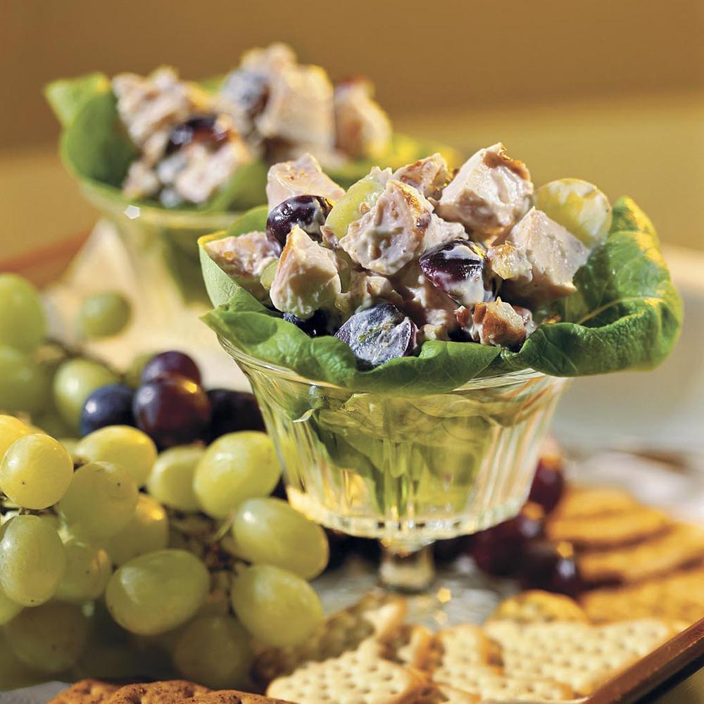 recipe: chicken macaroni salad with grapes [34]