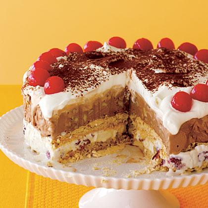 Ice Cream Meringue TorteRecipe