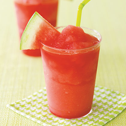 Watermelon-Limeade Slushie Recipe