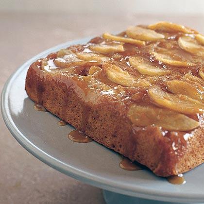 Caramel Apple Upside-Down CakeRecipe