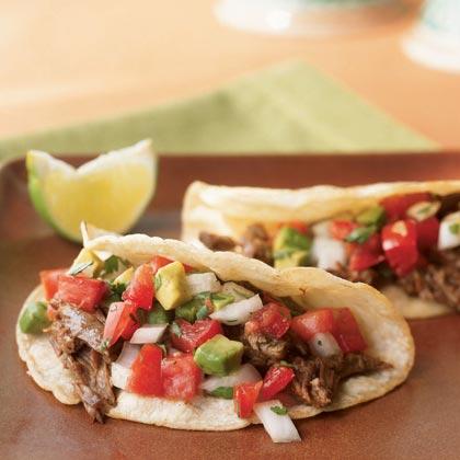 Beef Carnitas Tacos Recipe | MyRecipes.com