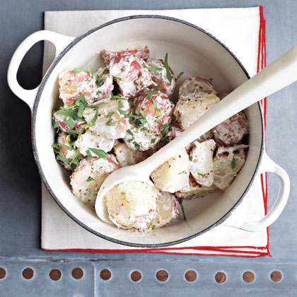 Pork Cutlets with Potato SaladRecipe