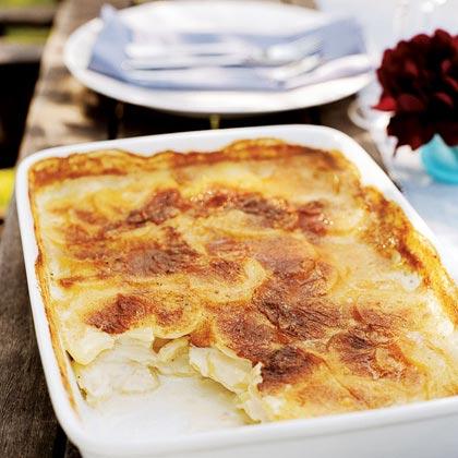 Creamy Cumin-and-Garlic Potato Gratin