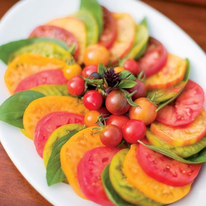 Deep-Summer Tomato-Basil Salad Recipe