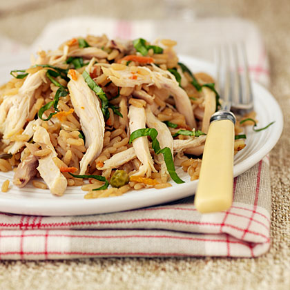 Asian Chicken and Fried Rice Recipe