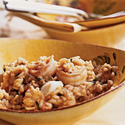 Mixed Seafood Risotto Recipe