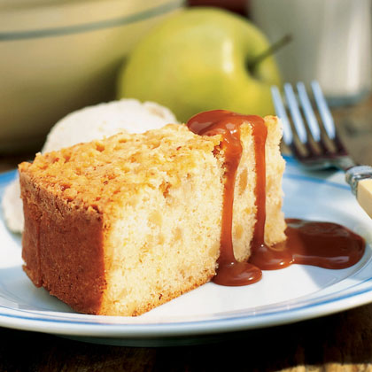 Apple-Almond Browned Butter CakeRecipe