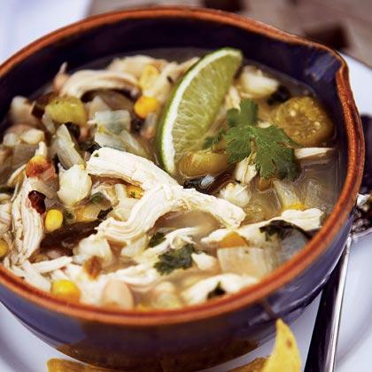 Green Chile-Chicken StewRecipe