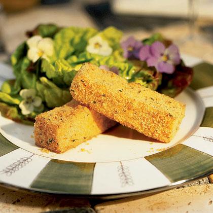Crusty Polenta Sticks Recipe Myrecipes