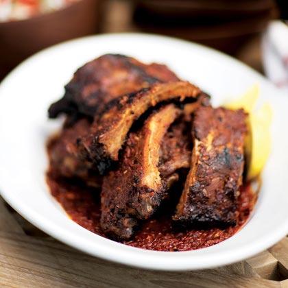 Soul food recipes myrecipes spicy pork ribs forumfinder Gallery