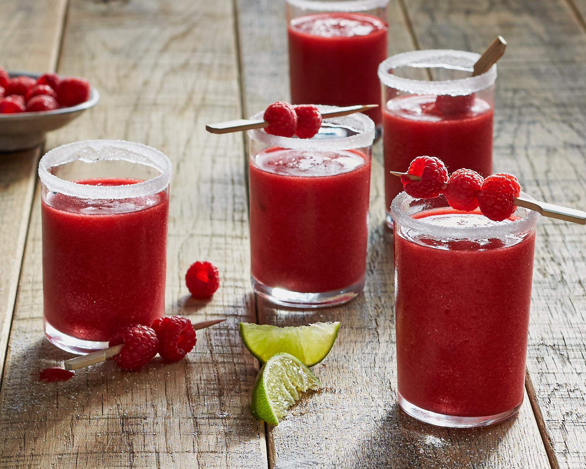 "Raspberry ""Sangre"" Margaritas"