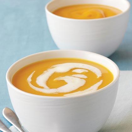 Jalapeño-Ginger Butternut Squash Soup Recipe