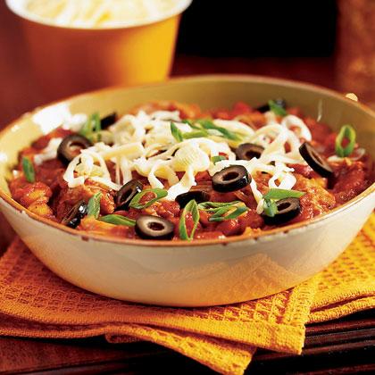 Turkey Thigh and Hominy Chili Recipe