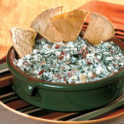 Cheesy Spinach-Artichoke Dip Recipe