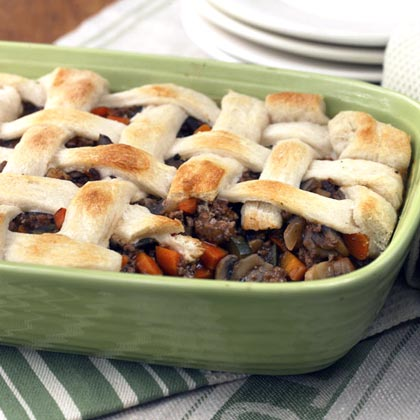 Beef and Vegetable Potpie