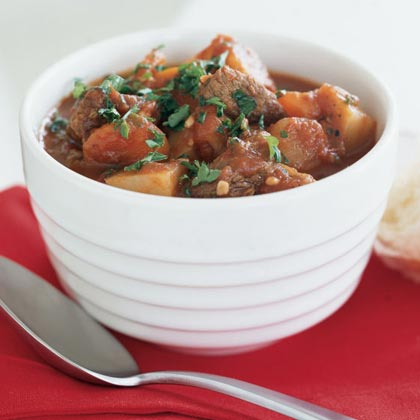 Hearty Beef and Tomato StewRecipe