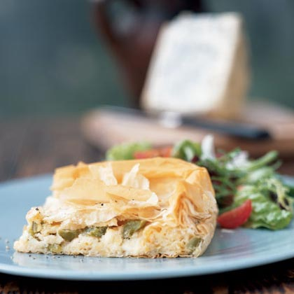 Cheese Pie with PeppersRecipe