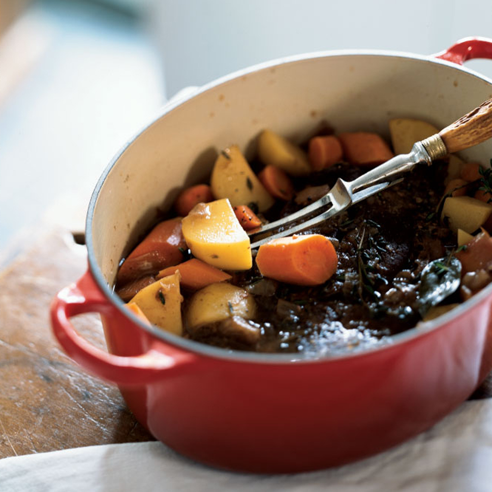 """Classic Beef Pot Roast                            RecipeWhen a recipe has the word """"classic"""" in the title, you know it has to be good. This no-fail pot roast didn't earn five stars for nothing."""