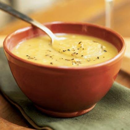 Butternut Squash-Leek Soup