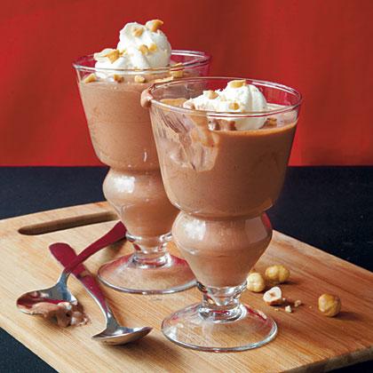 Chocolate-Hazelnut Mousse Recipe | MyRecipes