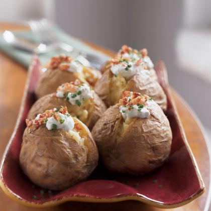Yukon Gold Potatoes with Gorgonzola and PancettaRecipe